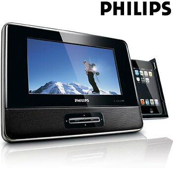 PHILIPS 7 INCH PORTABLE DOCKING ENTERTAINMENT SYSTEM