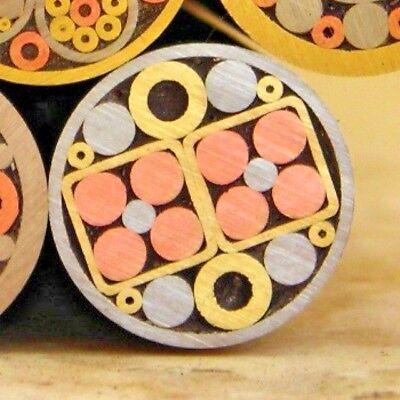 Making Mosaic Pin Custom Pin Mosaic Pin Rivets tool handle eye 8mm