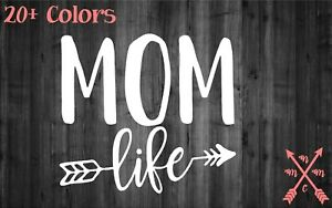 MOM-LIFE-ARROW-QUOTE-SAYING-STICKER-DECAL-LAPTOP-YETI-CAR-TUMBLER-CUP-MACBOOK