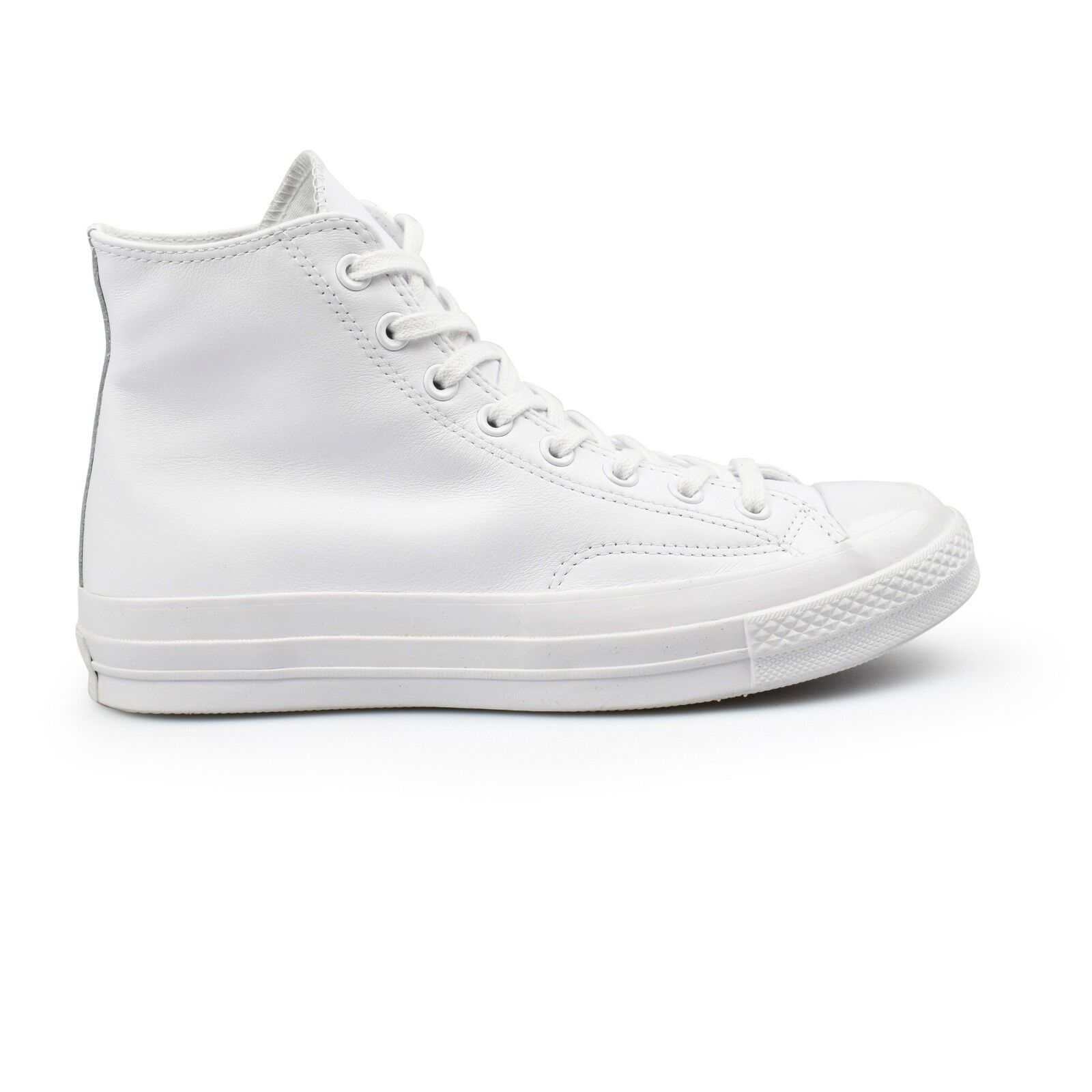 Converse Chuck Taylor All Star 70's Hi Mono blanc Leather hommes Trainers 155453C