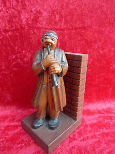 Beautiful, old Wooden Figure__Carved U.Painted __ South Tyrol __