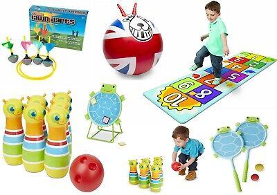 Jumbo Outdoor Garden Games Kids Family Fun Activity Giant Toys Bowling Boules