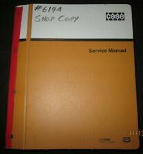 Case 580k Loader Backhoe Service Shop Repair Manual Parts Catalog Original Oem