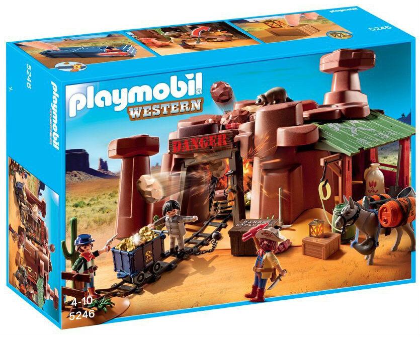 Playmobil 5246-orMINE occidentale-BIG  BOX  l'achat aujourd' hui   être en grande demande