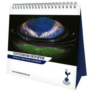 Tottenham-Hotspur-Football-Club-caballete-2020-Pagina-De-Calendario-De-Escritorio-a-mes-Carpa