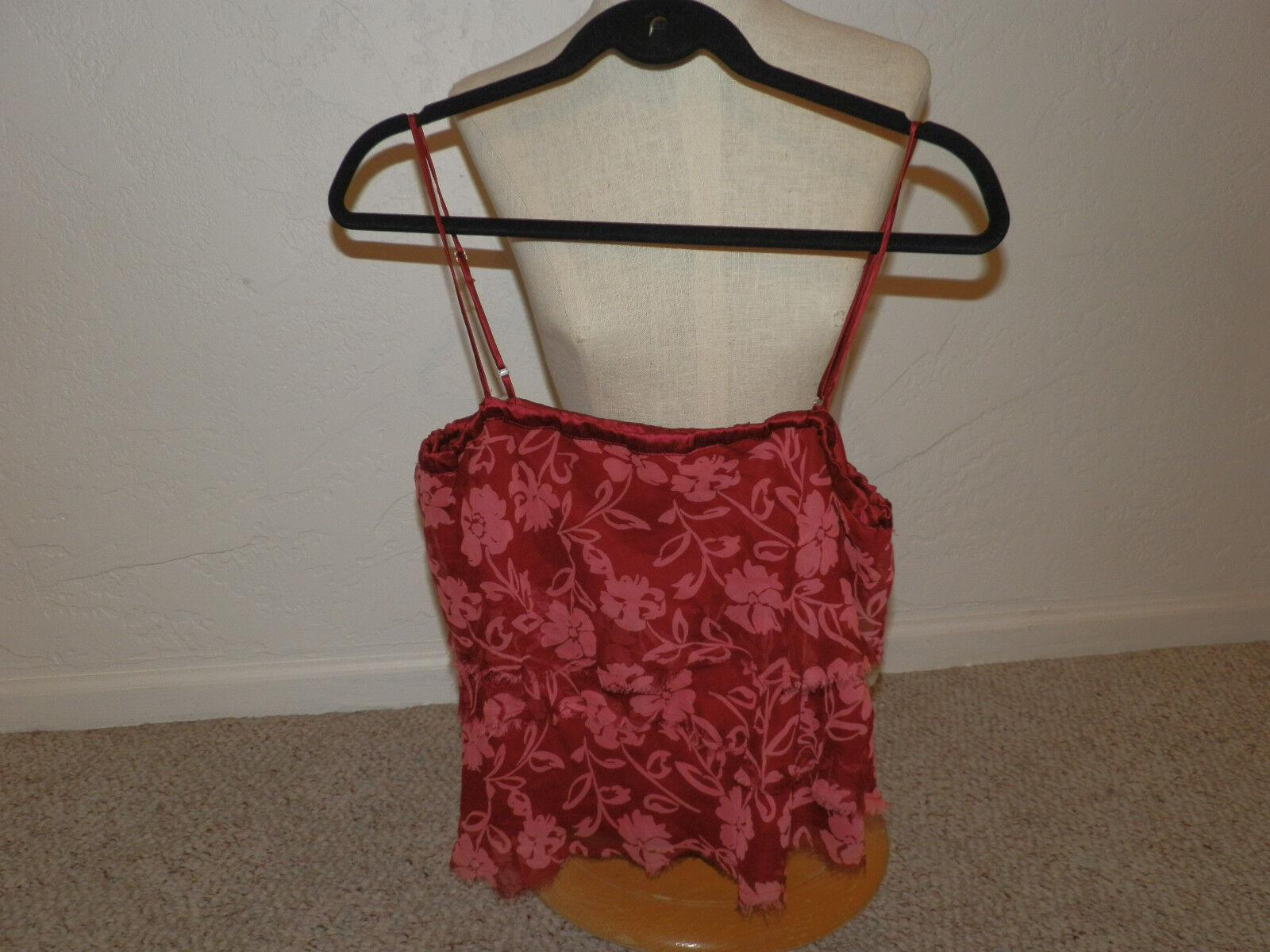 damen shirt Größe 10 Symmetry shirt Größe 10 rot shirt Größe 10 New