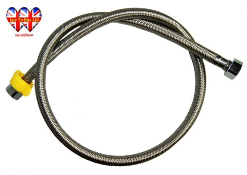 Female Stainless,Steel Flexible Hose,Compression,2 Heads,15mm Length:1Meter