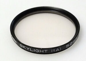 (prl) Kenko Slylight 1a 52 Mm Sky Filtro Foto Photo Filter Filtre Filtar Filtru Finement Traité