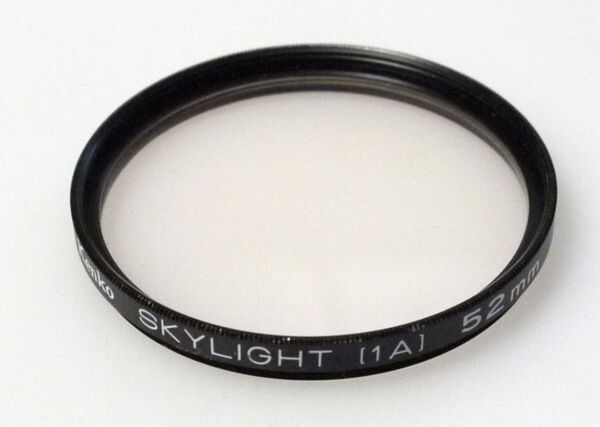(prl) Kenko Slylight 1a 52 Mm Sky Filtro Foto Photo Filter Filtre Filtar Filtru Techniques Modernes
