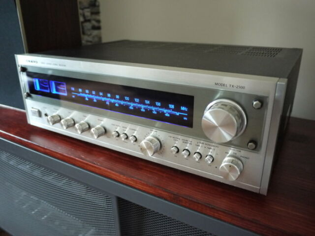 MODEL TX-2500 VINTAGE RECEIVER LED LAMPS METER STEREO DIAL Onkyo (COLOR CHOICE)