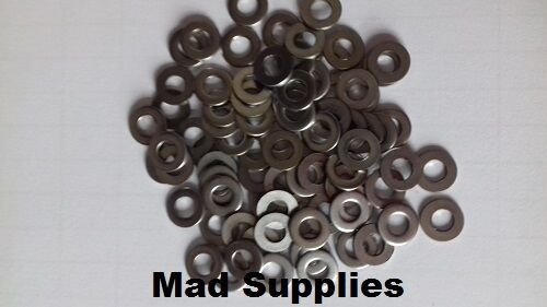 M4  STAINLESS STEEL FLAT WASHERS  form A  Pack of 200
