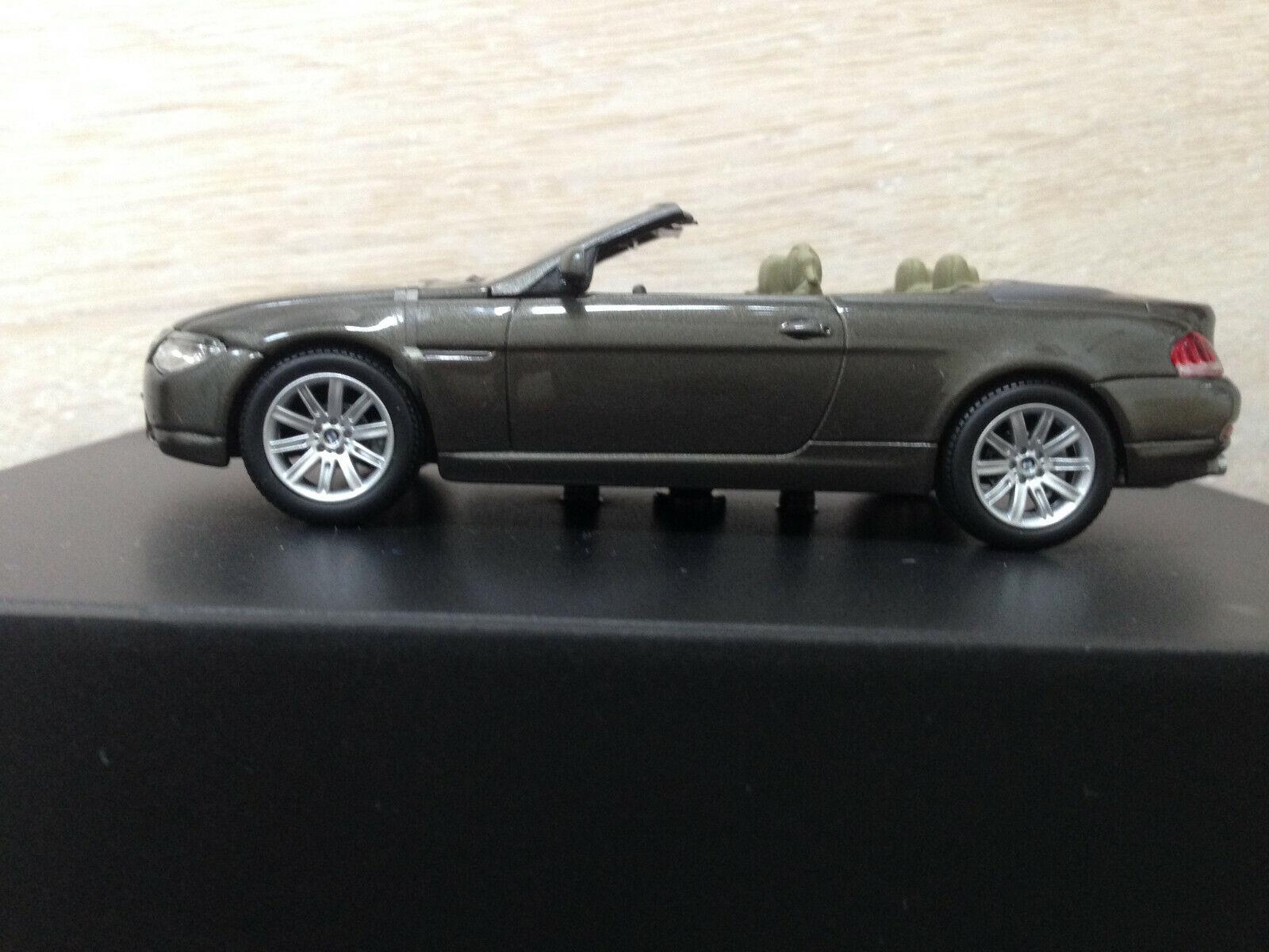BMW Modell 6er Cabrio NEU OVP  Sammlermodell SELTEN  | Räumungsverkauf