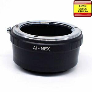 Anillo Adaptador de Cámara para Nikon Lente Sony NEX NEX-3 NEX 5 7 AI-NEX