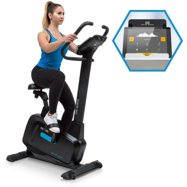 [OCCASION] Vélo d'appartement elliptique Cardiotraining Bluetooth Volant d'inert