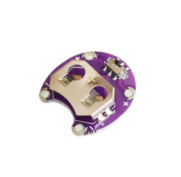 1PCS LilyPad Coin Cell Battery Holder CR2032 Battery Mount Module for arduino