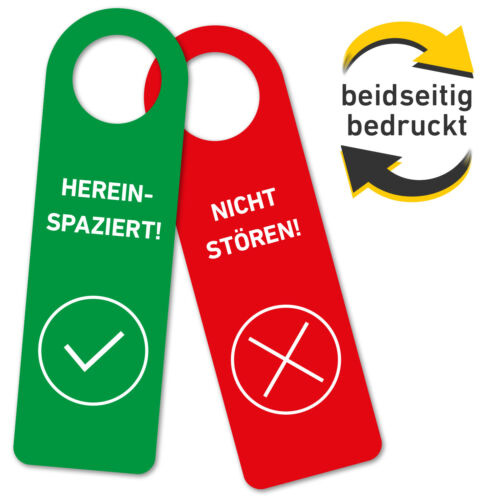 Türhänger Türanhänger Schild Nicht stören Tür Deko Bestzt Frei Türschild