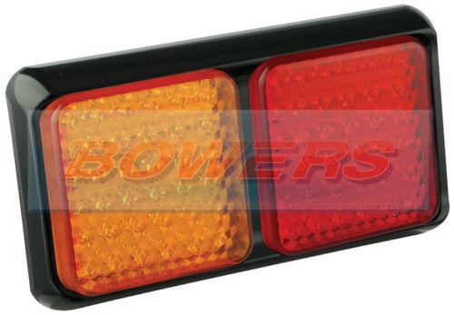 LED AUTOLAMPS 80BARME 12V//24V REAR SLIM COMBINATION STOP//TAIL//IND LAMP LIGHT