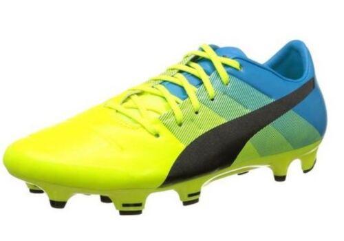 pour Evopower Chaussures 103528 Fg nouveau Homme 2 Blue Football Puma Yellow 01 de 4 CgIdqgxw0