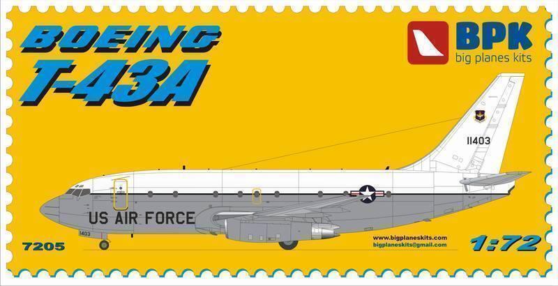 1 72 BPK 7205 BOEING T-43A