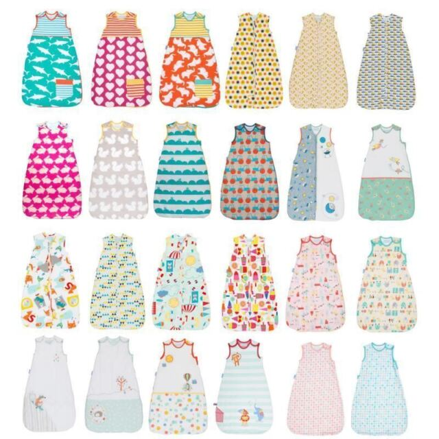 Grobag Sleeping Bag Gro Baby Child Nursery 0 5 3 Tog 0m 10 Years