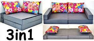 image is loading new collage kids sofa bed 160cm futon double  new collage kids sofa bed 160cm futon double childs sleep over      rh   ebay co uk