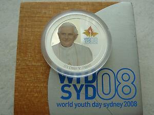 SYDNEY 2008 Papst BENEDIKT 1 DOLLAR AUSTRALIA POPE Benedict Benedictus Bento - <span itemprop='availableAtOrFrom'>zu Hause, Deutschland</span> - SYDNEY 2008 Papst BENEDIKT 1 DOLLAR AUSTRALIA POPE Benedict Benedictus Bento - zu Hause, Deutschland