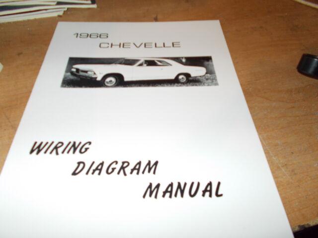 1966 Chevrolet Chevelle Wiring Diagram Manual