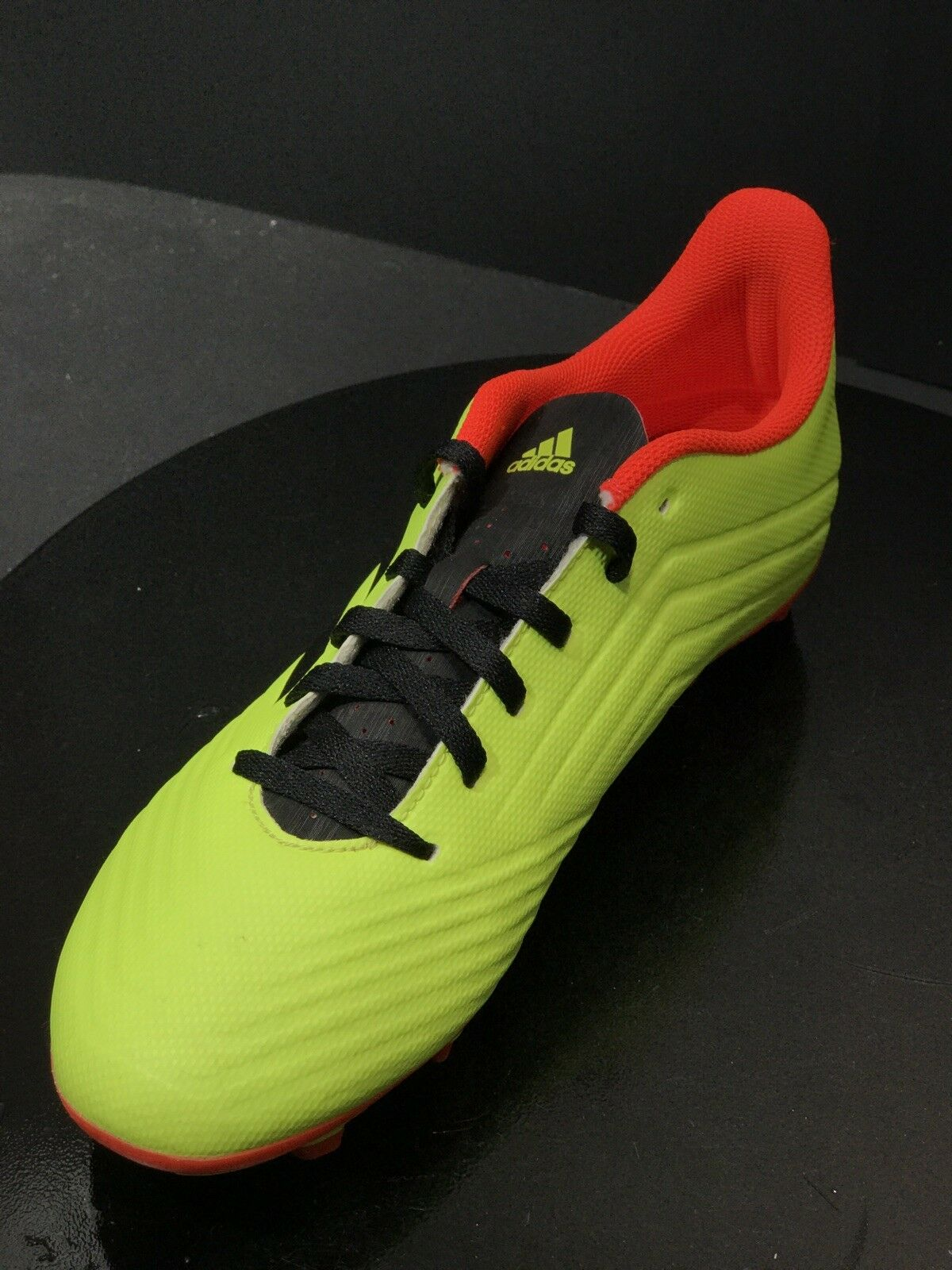 Adidas Predator 18.4 Firm Ground Mens Soccer Boot Yellow Energy Mode Size US 7 M