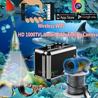50m 2.4g 12pcs Led Wifi Wireless Underwater Fishing Finder Camera Night Vision on sale