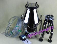 stainless steel Portable Cow Milker Milking Bucket Tank Barrel