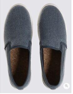 pour MarksSpencer Chaussures 7 hommestissage glissièreRoyaume à Uni milliards à confortable semelle Y2IWEDH9