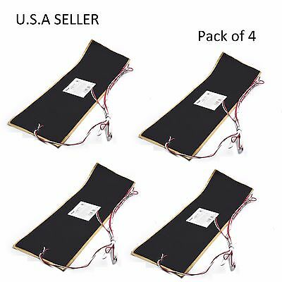 """Facon 4Pcs 7 1/4""""x25"""" RV Water Holding Tank Heater Pad With Automatic Thermostat"""