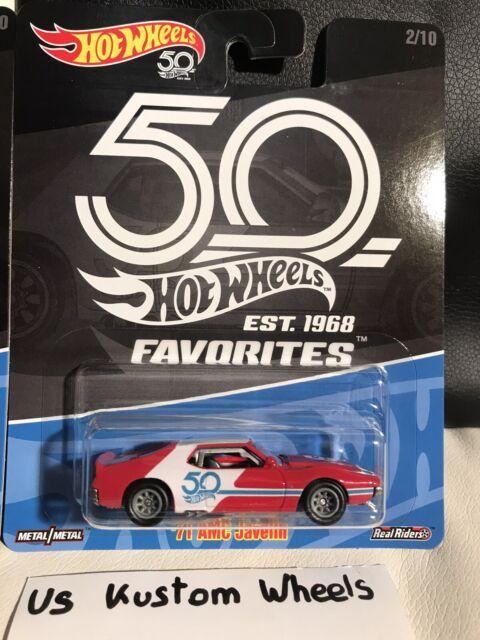Hot Wheels 2018 50e Anniversaire Favoris' 71 AMC Javelin W/ Rrs