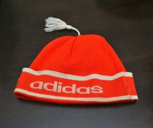 e5c5ea11d9903 Rare vintage Adidas knitted hat collectable retro ski sport hipster ...