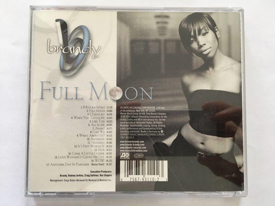 Brandy : Full Moon, R&B