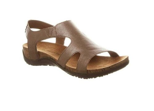 NEW 2019 WOMEN BEARPAW WILMA ROSE GOLD FASHION SANDALS SLIP ON AUTHENTIC 2213W