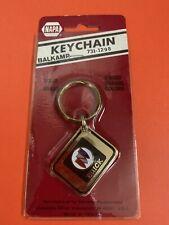 Vtg Napa 1980's USA America Flag Brass Keychain NOS Baron American Bald Eagle