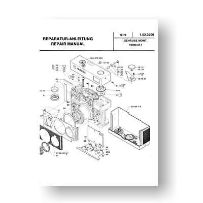 parts service manual