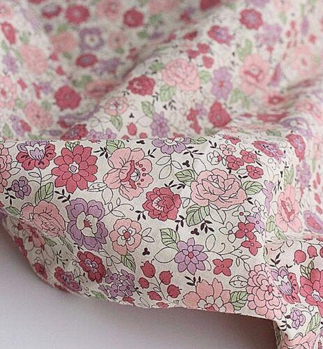 asa floral ligero JAS44 /< * Flor de Amor 100/% tela de algodón por la yarda