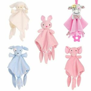 Soft-Baby-Toys-Appease-Towel-Soothe-Sleeping-Animal-Blankie-Educativ-0-12-Months