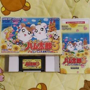 Tottoko-Hamutaro-3-Love-Love-Adventure-Nintendo-Game-Boy-Advance-GBA-Used-Japan