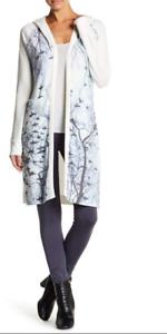 Couture Alberi Cardigan d'avorio Bare Xl con maniche lunghe New a invernali cappuccio 148 xYxq0H