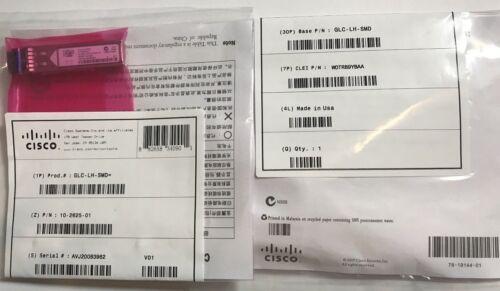 Cisco GLC-LH-SMD mini-GBIC Transceiver Module LX//LH SFP 10-2625-01-1 Year