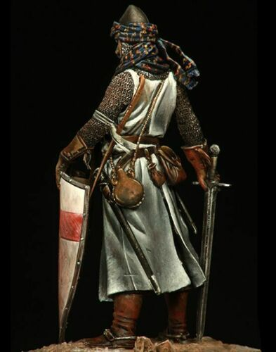█ 1//24 75mm Resin Crusader Guard Soldier Ancient Unassembled Unpainted 1918