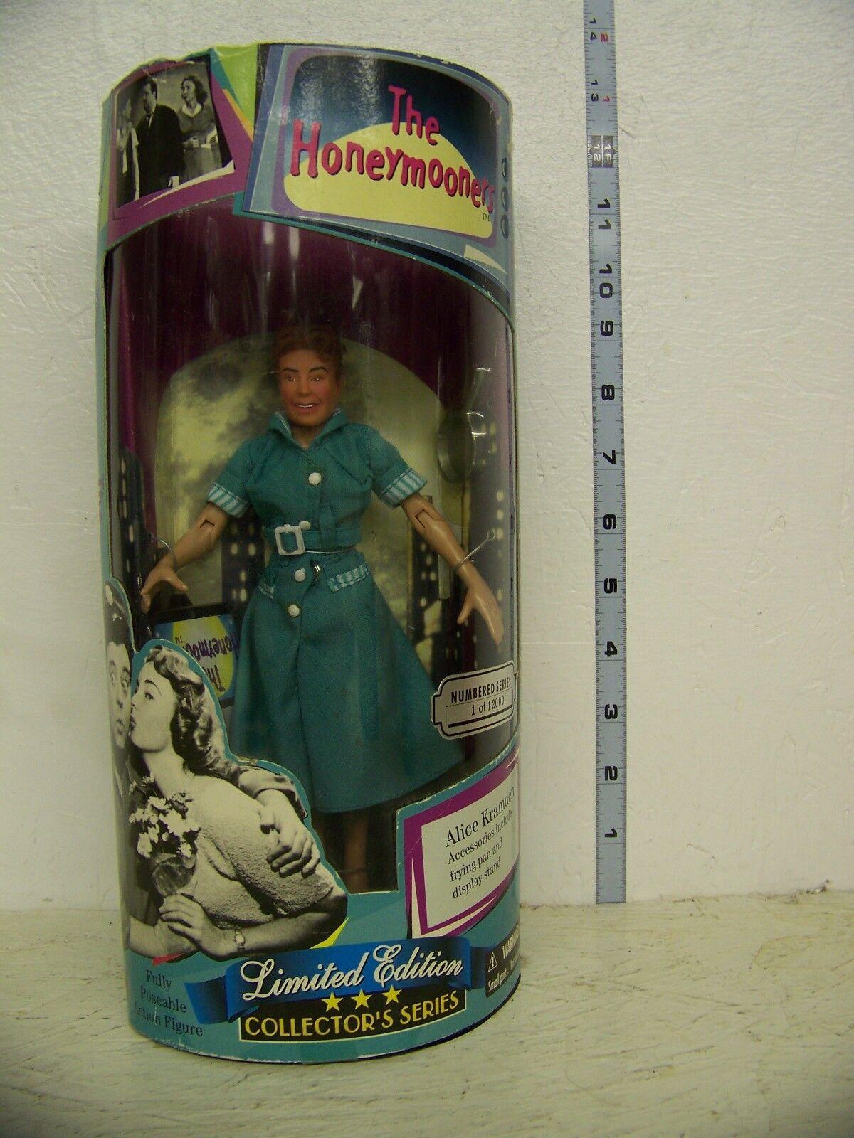 Honeymooners Alice Kramden 9in half moon Figure