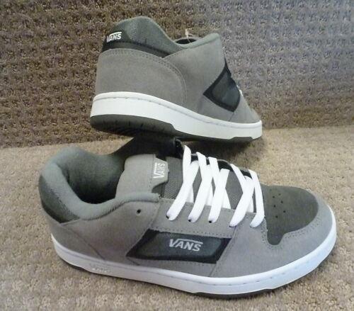 Carbón docket Vans Zapatos blanco Gris gris Hombre q77wITY