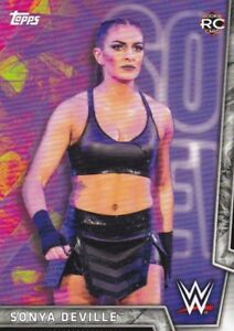 2018-Topps-Wwe-de-Mujer-Division-Cartas-Coleccionables-29-Sonya-Deville