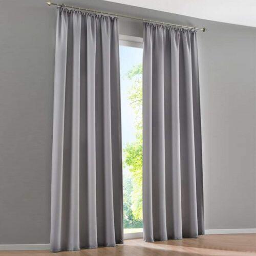 Vorhänge Gardinen Wohnzimmer Dekogardinen Vorhang Blickdicht Kräuselband Modern