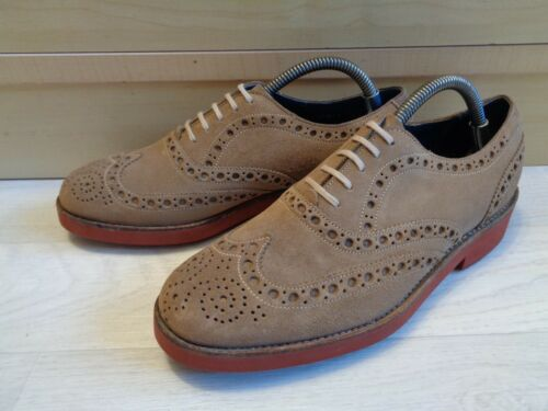 Goodyear Brogue Suede Pelle 5 Oxford 5 40 Wingtip beige Uk 6 marrone Welt Barker 5PxnwTqRHq