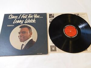 Since-I-Fell-For-You-Lenny-Welch-Cadence-Records-CLP3068-Record-LP